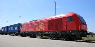 15 Tage nach seinem Start in Chengdu erreichte der RCG-Containerzug das Güterzentrum Wien Süd. Foto: © RCA_Scheiblecker
