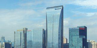 Tencent-Unternehmenszentrale in Shenzhen. Foto: iStock © bingfengwu